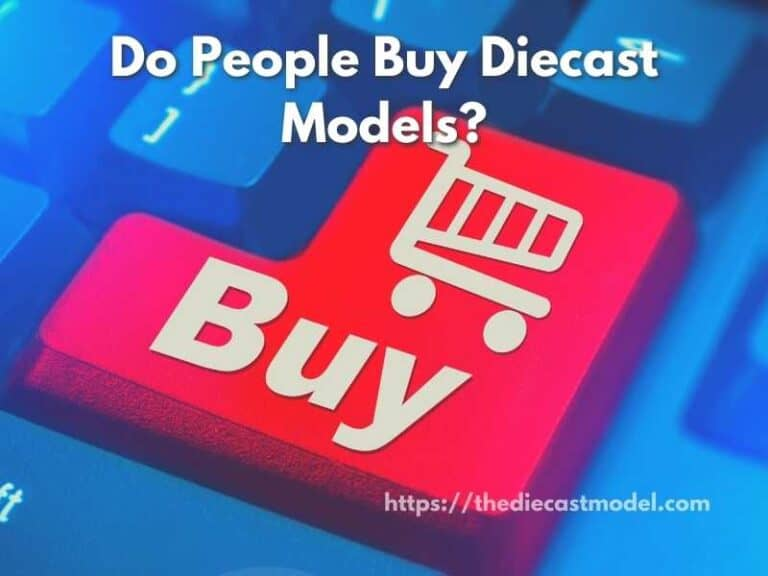Do People Buy Diecast Cars?   An Introduction to Model Market and Reasons Why People Collect Model Cars