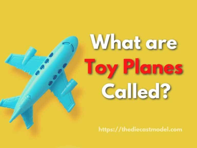 What are Toy Planes Called?